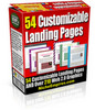 54 Customizable Landing Pages