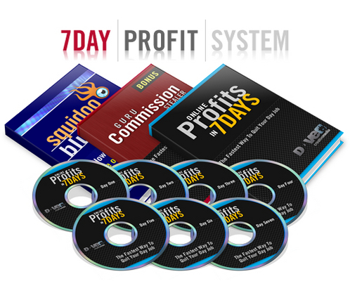 Product picture 7 Day Profits System MRR!