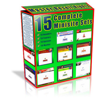 Product picture 15 Minisite Templates