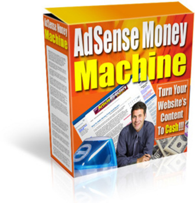 Product picture Adsense Money Machine - With Master Resell Rights