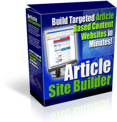 Product picture Article Site Builder