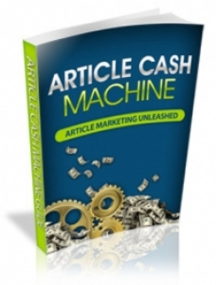 Product picture Article Cash Machine with Private Label Rights