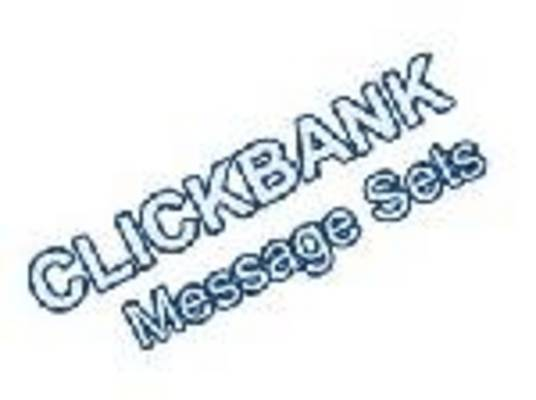 Product picture Clickbank Message Sets - with Private Label Rights