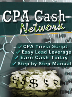 Product picture Cpa Cash Network with MRR