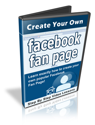 Product picture Create Your Own Facebook Fan Page