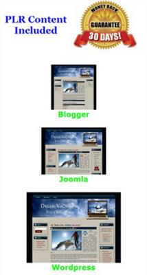 Product picture Dream Vacations You Can Afford - Turnkey Website Mini Site