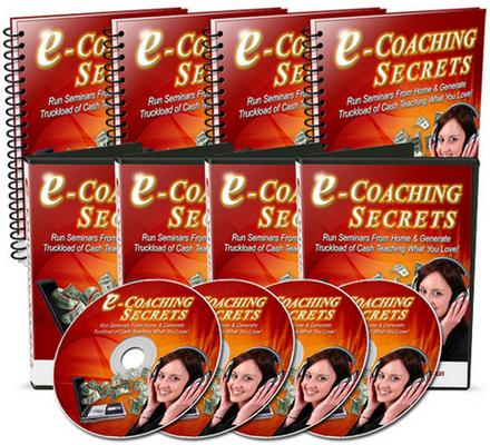Product picture e Coaching Secrets MRR Videos Audio