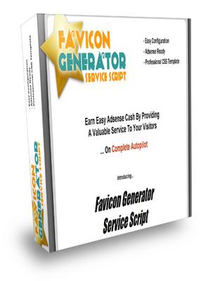 Product picture Favicon Generator Service Script with mrr