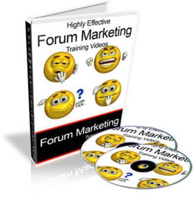 Product picture Forum Marketing Training Videos