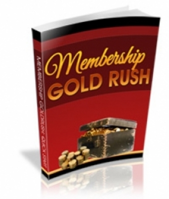 Product picture Membership Goldrush - PLR