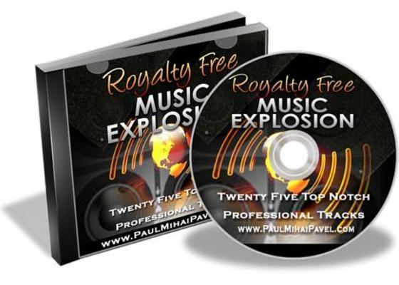 Product picture Royalty Free Music Explosion With Master Resale Rights