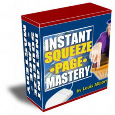 Product picture  Instant Squeeze Page Mastery Videos with Resell Rights