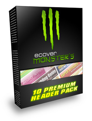 Product picture eCover Monsters with Master Resell Rights