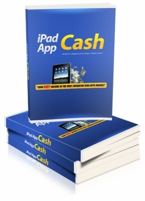 Product picture iPad App Cash with Master Resell Rights