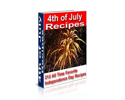 Product picture 4th of July Recipes Cookbook Ebook