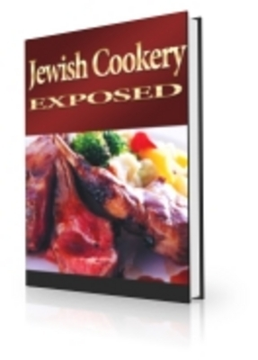 Product picture Jewish Cookery Exposed with PLR