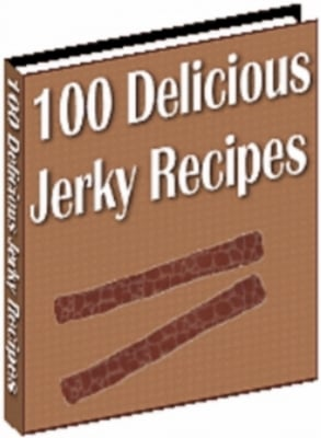 Product picture 100 delicious jerky recipes with Master Resell Rights