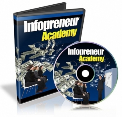 Product picture Infopreneur Academy  Video with Resell Rights
