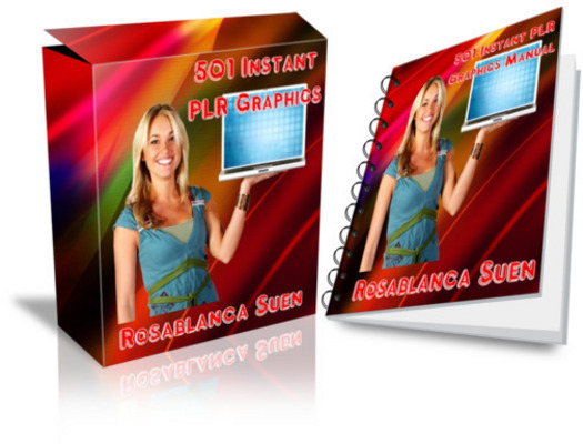 Product picture 501 Instant  Graphics with Master Resell Rights