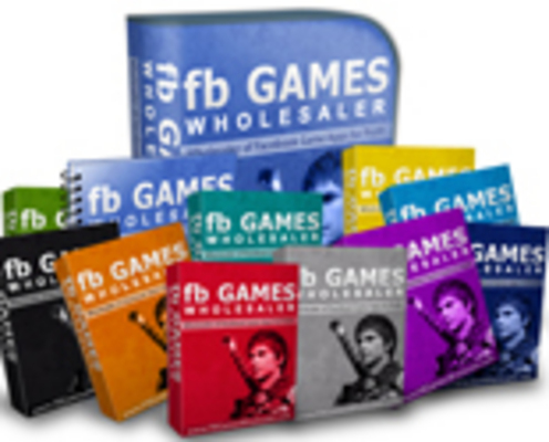 Product picture Facebook Game Apps 4-Facebook Game Apps Package with MRR