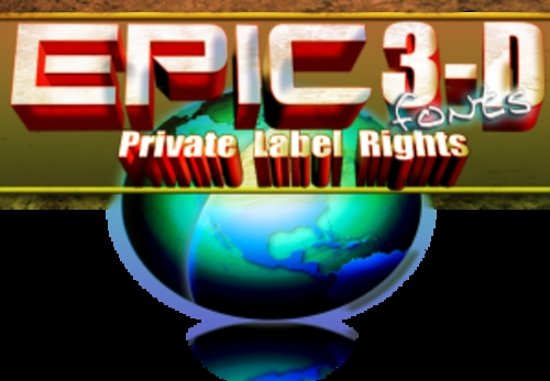 Product picture Epic 3D Graphics - Graphics with PLR