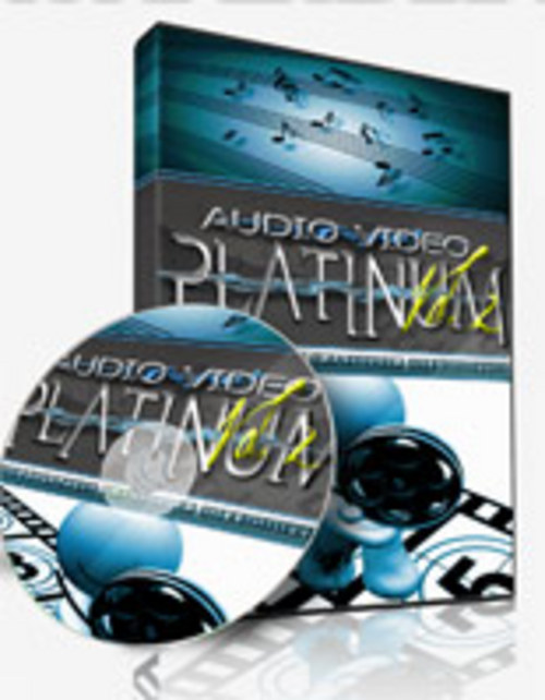 Product picture Audio Video Platinum V2 - Videos & Audio Clips with PLR