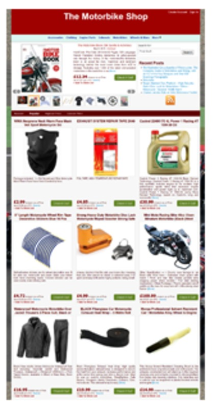 Product picture Amazon Motorbike Store
