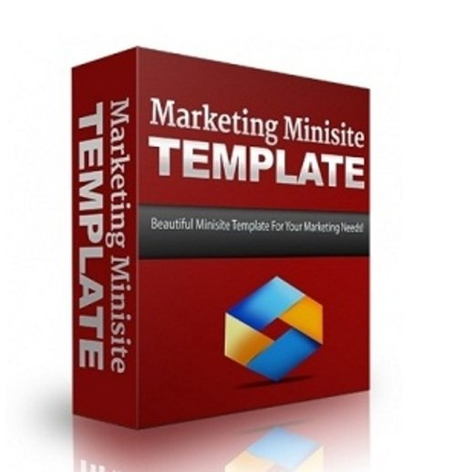 Product picture Marketing Minisite Template